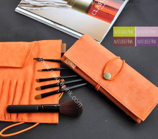 6PCS Portable Make-up / Makeup Brush Set Gift Brush Set Travel Brush Set (NP0648)