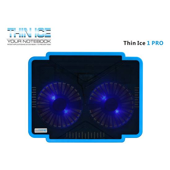 Dual Fan Ultra-thin USB Powered Coolcold Laptop Coolers