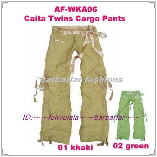 Wholesale Abercrombie AF-WKA06 Caita Twins Cargo Pants