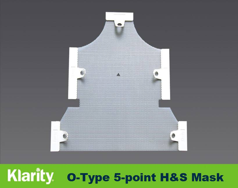 Sell Type-O 5-point Mask Orfit type thermoplastic mask