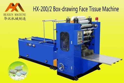 Sell HX-200/2 Box-drawing Facial Tissue Machine