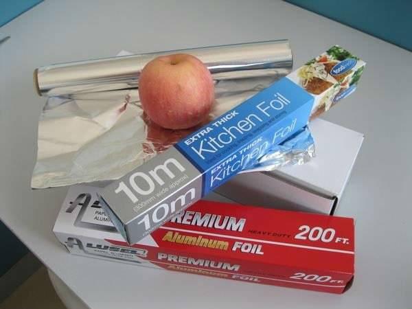Low price colored aluminum foil
