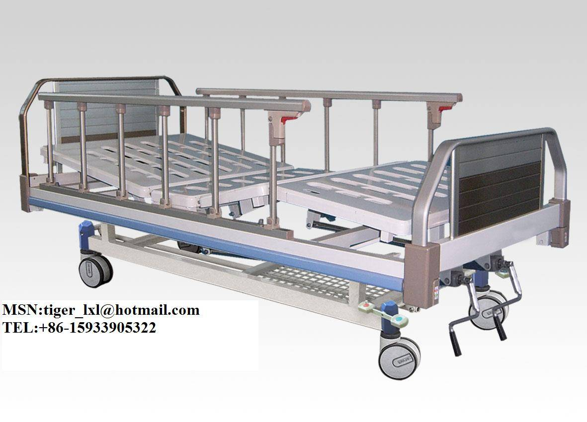 Movable Double Shakes hospital BedA-16