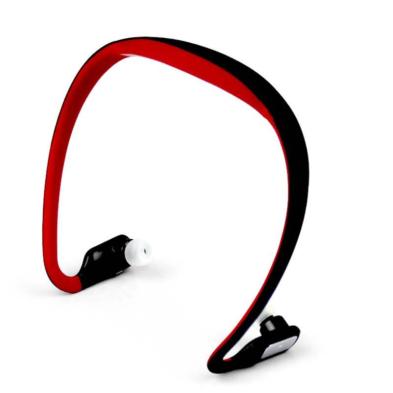cheap TF card read mp3 player wireless FM radio headset