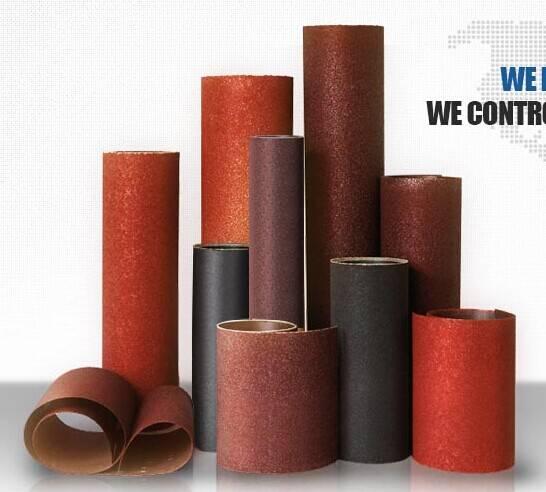 coated abrasive cloth jumbo roll