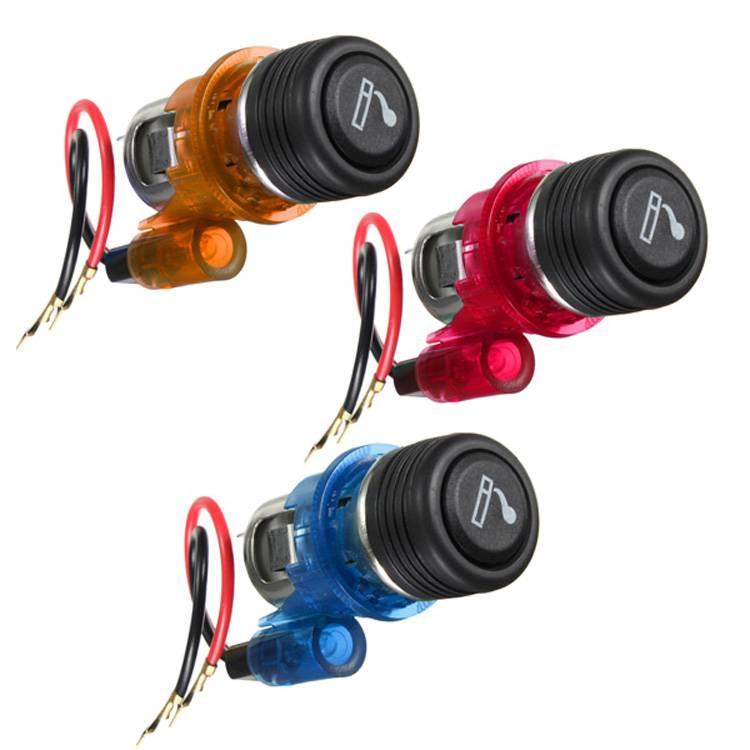 12V 120W Car Motorcycle Cigarette Lighter Power Socket Plug Outlet