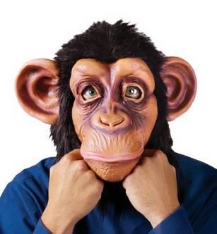 Youtumall Animal Deluxe Chimpanzee/Chimp Adult Mask