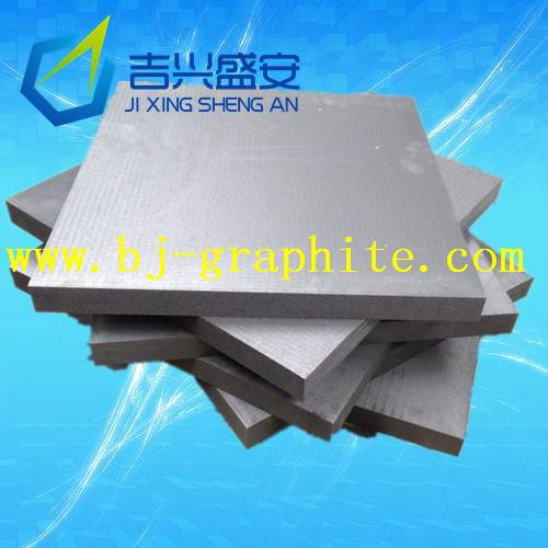 High-purity high-strength graphite sheets