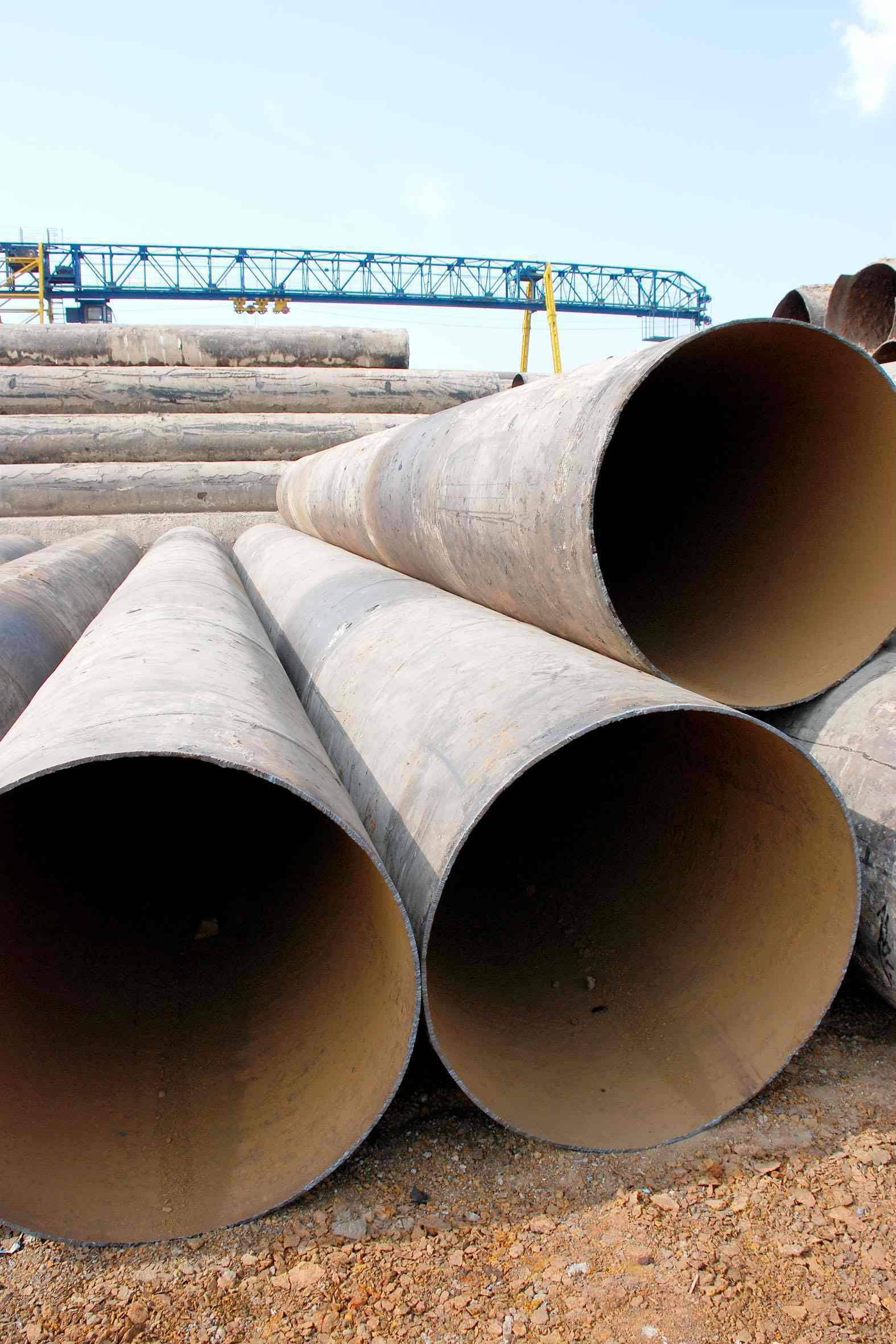 Used Steel Pipes
