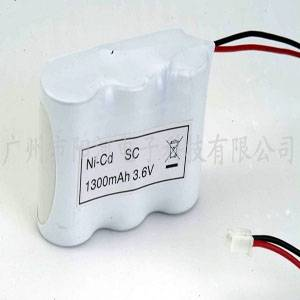 Ni-Cd SC 1300MAH 3.6V Remote Control Rechargeable Battery