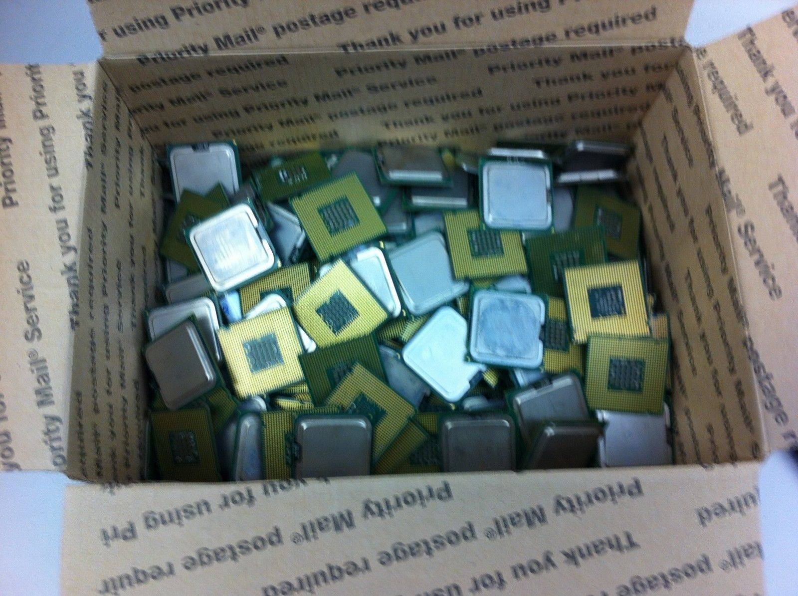 Scrap Ceramic CPUs for Gold Recovery