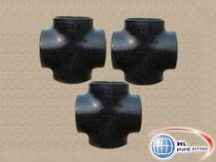 supply seamless steel BW equal cross pipe fitting