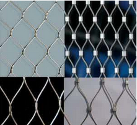 Durable 719 X-Tend Inox Wire Rope Mesh For Zoo Animal Enclosure Fence/Zoo Meshes