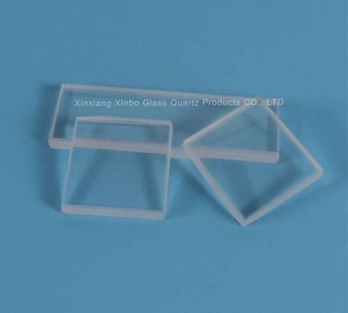 clear circle borosilicate toughened glass lenses