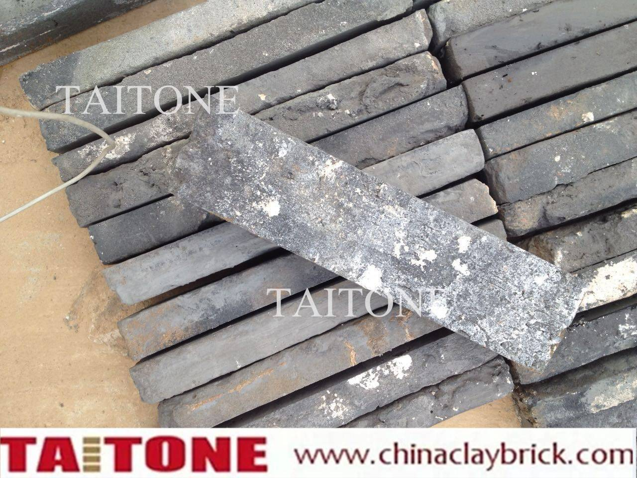 old grey bricks slice