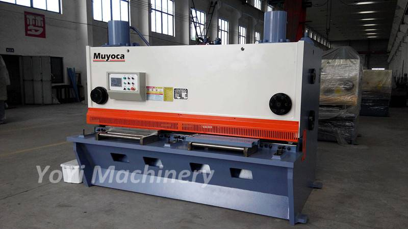 QC11Y-20x2500 nc hydraulic guillotine shearing machine