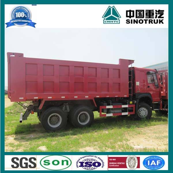 Chinese heavy duty sinotruk 6x4 25 ton howo dump truck for sale