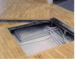 supply wood core raised floor