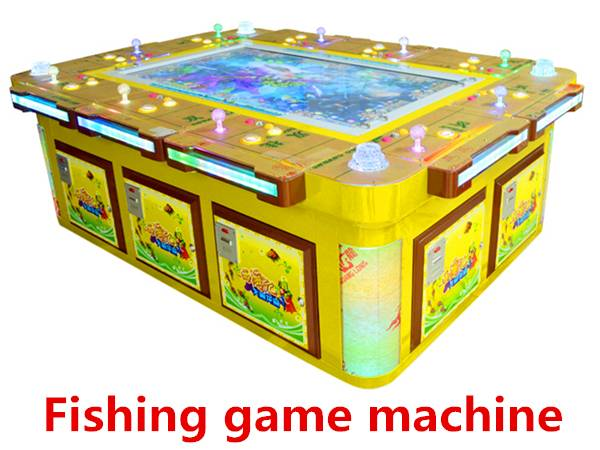 Newest Coin operated gambling shooting fish game machine/tickets lottery game machine