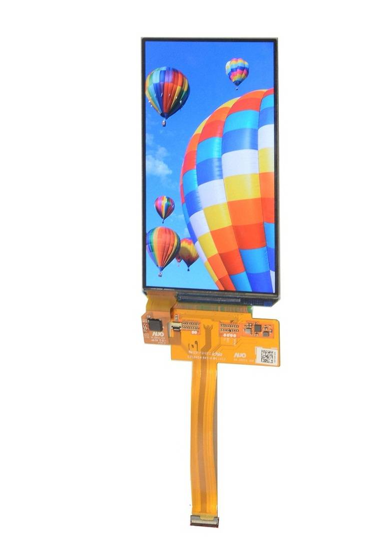 5-inch Mobile phone AMOLED display module with full color