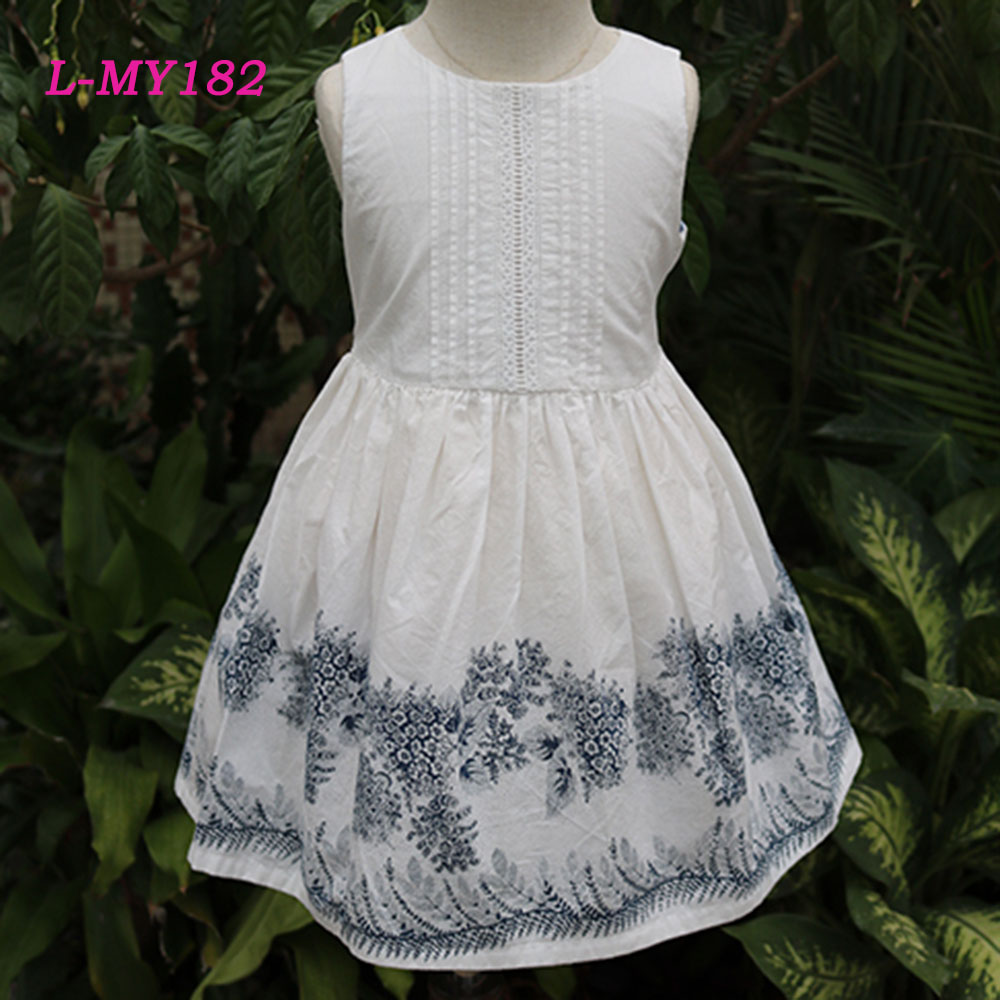 Pretty western dress designs little girl matching angel dress