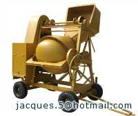 10/7cft concrete mixer with hopper (200L concrete mixer)