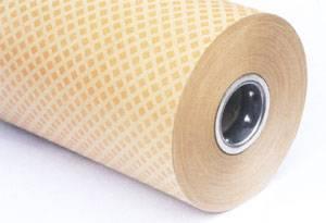 Diamond pattern resin coated paper