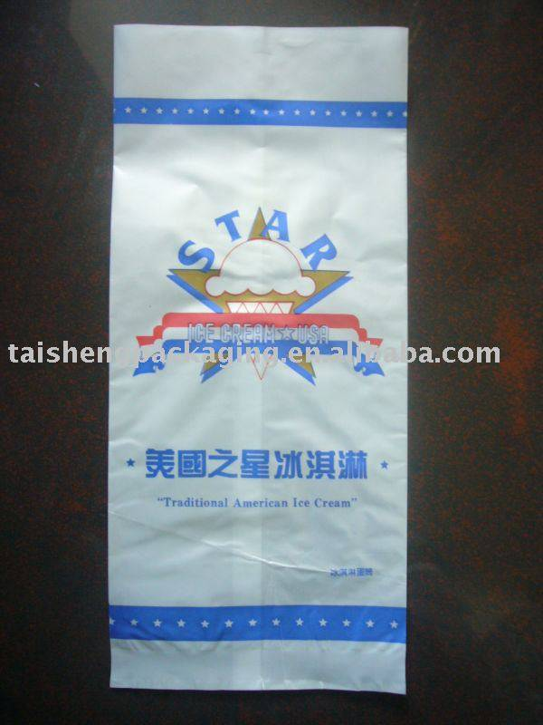 Pearlized Film Ice Cream Packaging Bag 001