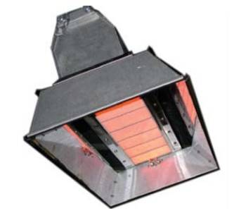 infrared gas heater for space warming