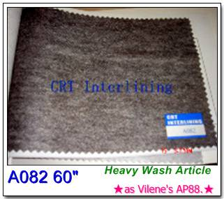 non-woven fusible interlining---Heavy Wash