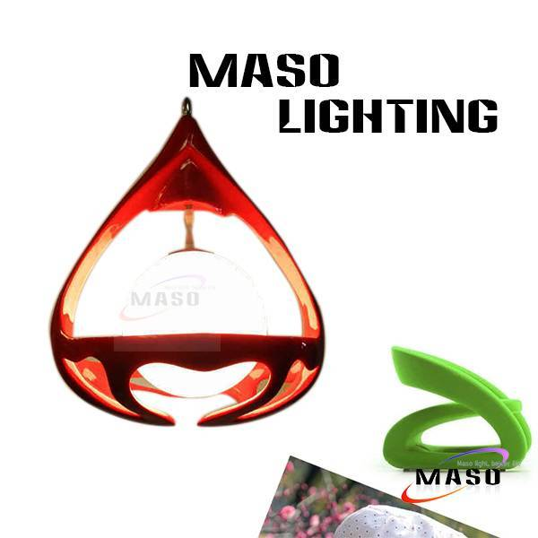 LED lighting bulb Hanging Basket resin Pendant Lamp E27 Chrome Plating Chandelier light MS-P1050