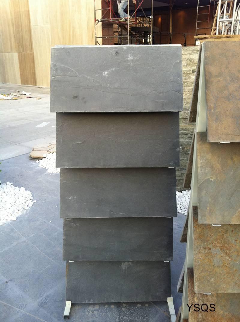 Black Slate Tiles, Yixian Slate