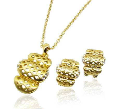 Wholesale Individualized style jewelry set with special pattern noble for summer collection