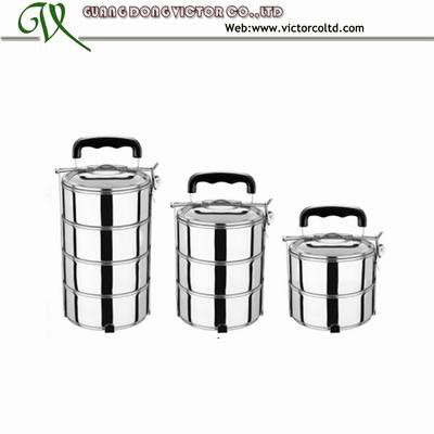 2 layer,3 layer,4 layer Stainless steel food container