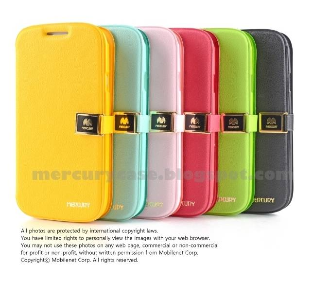 Mercury Pocket Diary Case for Samsung Galaxy S3(M440S)