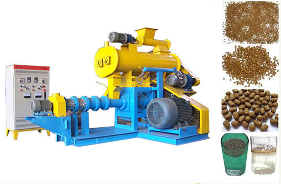Selling Fish Feed Machine 180-200kg/h Extruder Machine