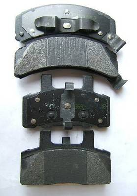 D789 auto brake pad for Chevrolet and Cadillac