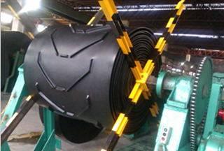 QBF chevron rubber conveyor belts with V type