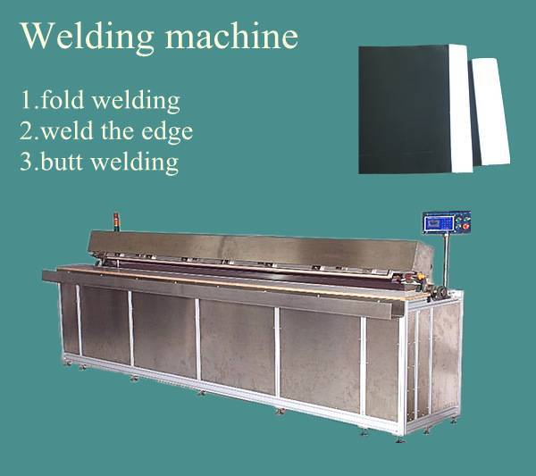 welding machine for roman blinds