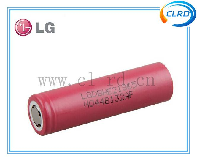 original 35A LG 18650HE2 2500mah 3.7v rechargeable battery