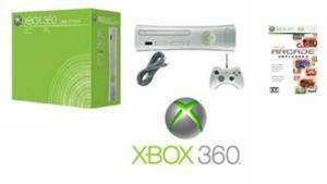 Xbox 360 Core Video Game System with 6 of the Coolest Games