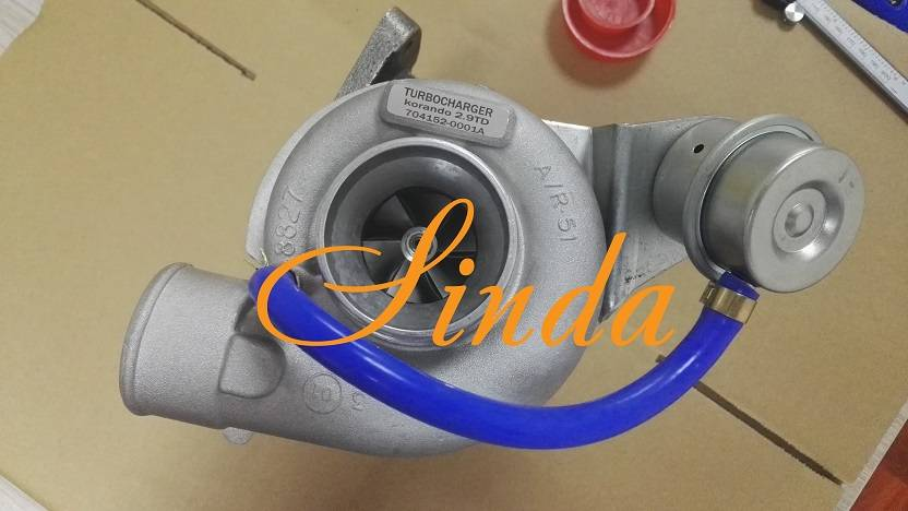 Ssang Yong Korando turbocharger 2.9TD 704152-0001A ,6620903180 GT25 turbo