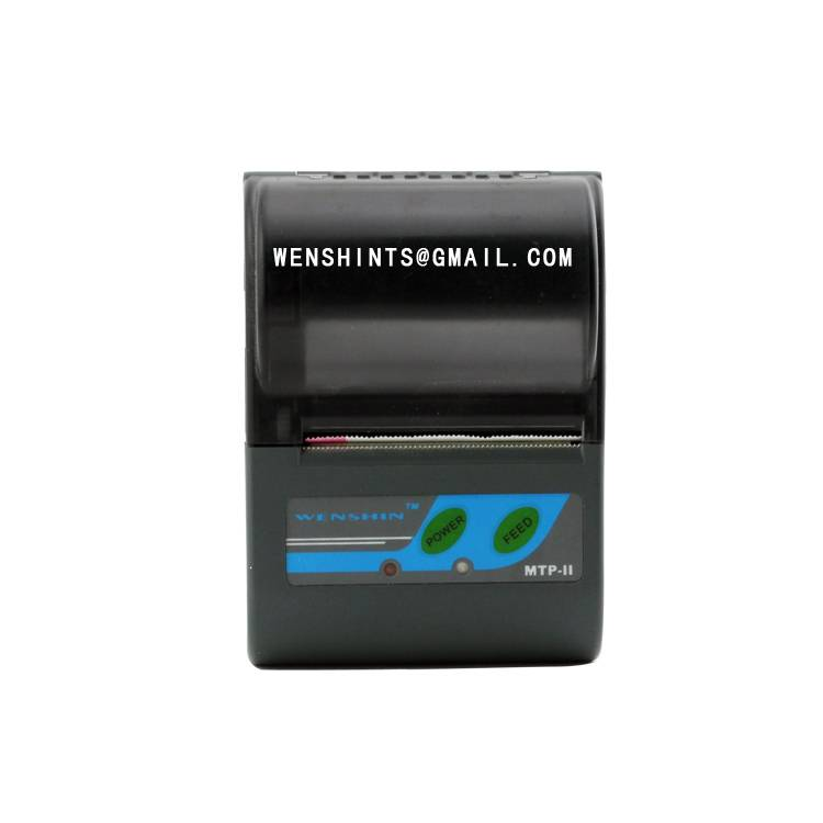 2 inch Bluetooth MTP-II Mini Mobile Portable Thermal Printer