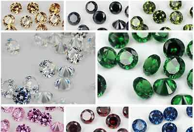 Wuchou Cubic Zircon Brillant Cut Multicolor Gemston for Jewelry