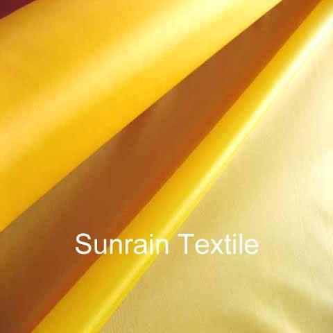 Tent Fabric/PU Coated Polyester and Nylon Taffeta