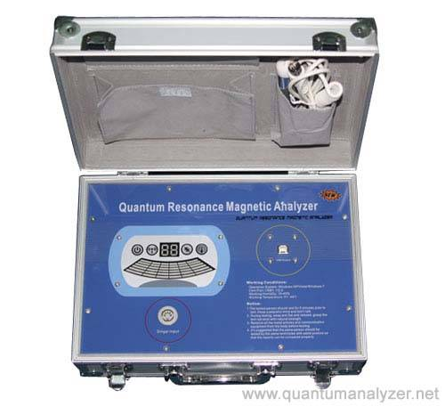 quantum resonance magnetic analyzer-English