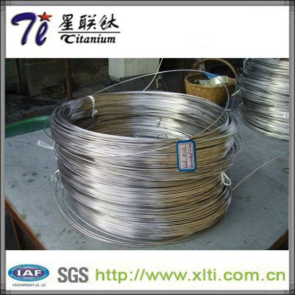 2mm Pickled ASTM F67 Gr2 Straight Titanium Wire