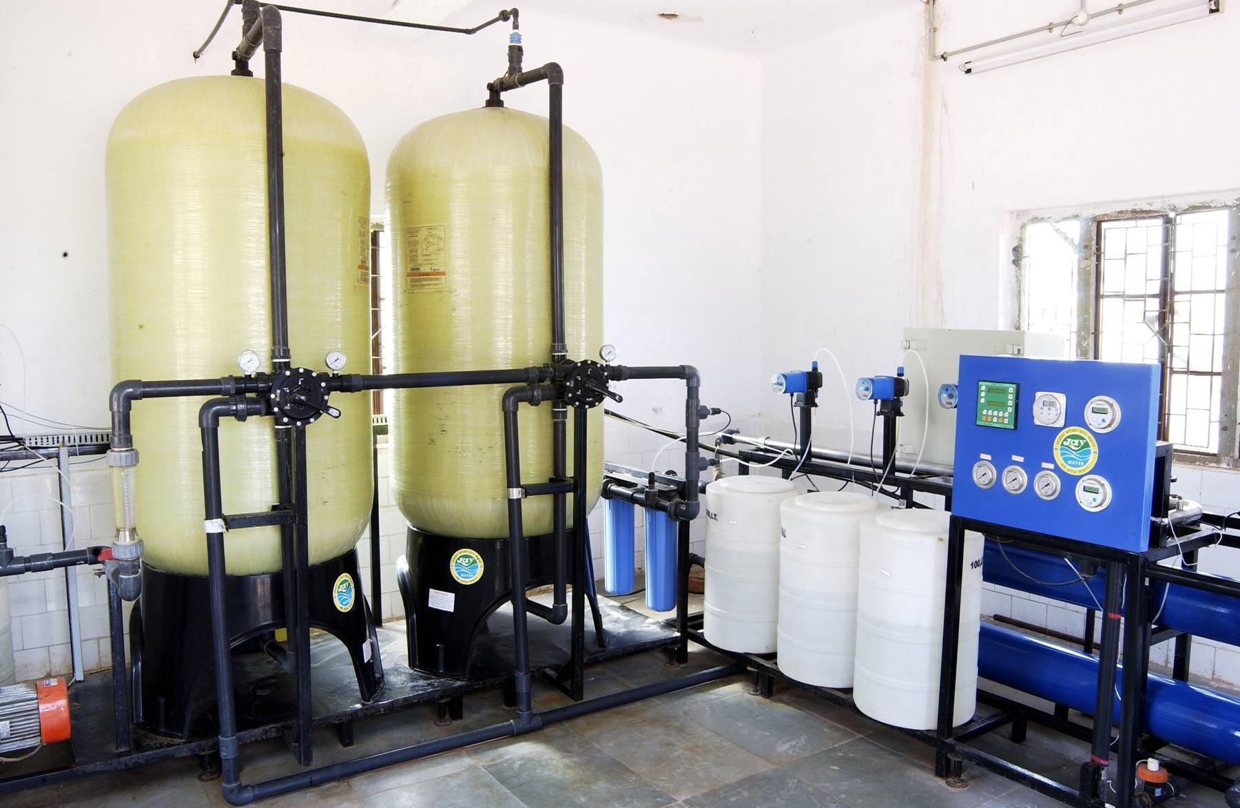 Ro plant (Reverse osmosis system)