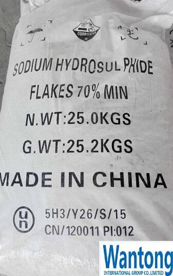 Sodium Hydrosulphide 70% Flakes/Sodium Hydrosulfide/NaHS 70%