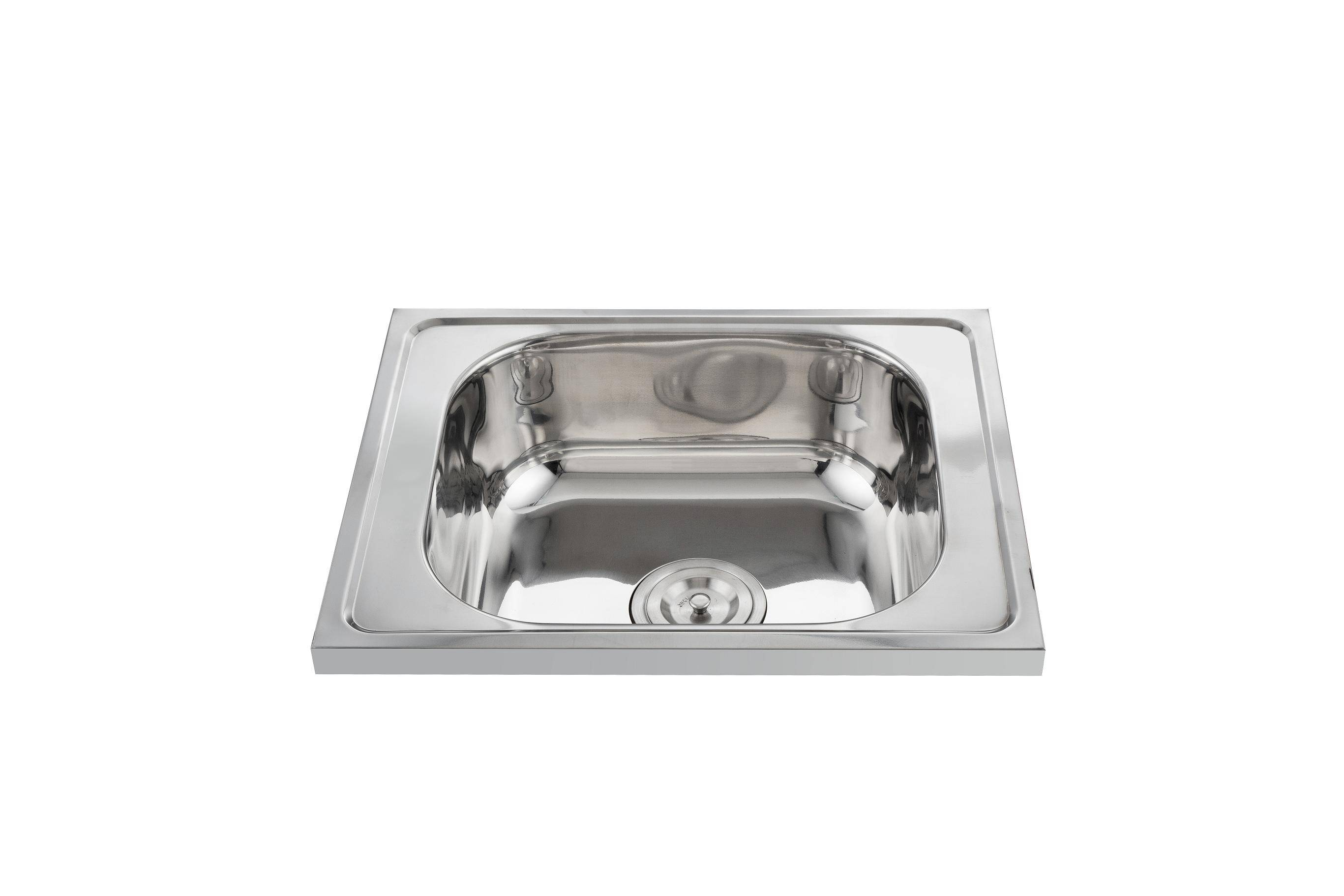 Reliable quality 5040 rectangular kitchen sink without drainboard